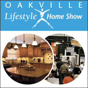 We Are At The Oakville Home Show April 12th to April 14th