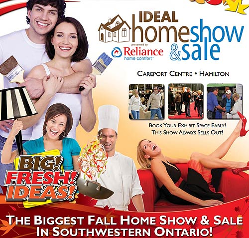Join Us At The Hamilton Ideal Home Show & Sale September 20th To 22nd
